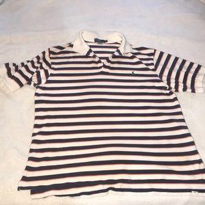Polo by Ralph Lauren Men's Striped Shirt XLT Tall